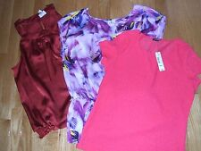 Blouse by Decree, 5th East, Worthington, or St. John's Bay; S, M, L, XL, PXL