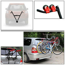 UNIVERSAL FITTING CAR CYCLE CARRIER REAR OR TOWBAR MOUNTED 2/3 BICYCLE BIKE RACK