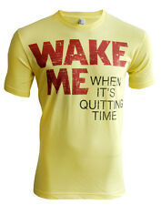 Retro Moon - Wake Me When It's Quitting Time Movie T-shirt