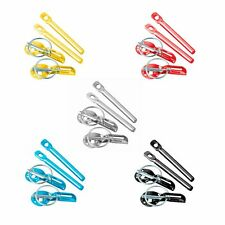 Alloy Competition Panel Fastener/Bonnet Or Boot Pins With Retained Slider - Pair