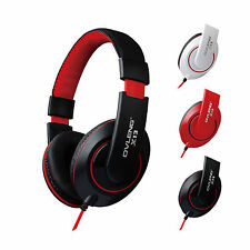 Headphones Stereo Over Ear Earphones with Mic for Mobile iPhone 4 5/5s 6/6s Plus