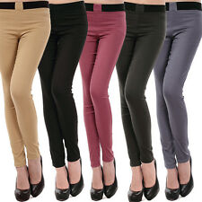 New Womens Ladies Pencil Pants Casual Legging Jeans Trousers Panties Slim Fitted