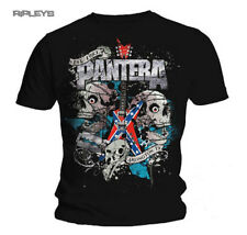 Official T Shirt PANTERA Metal TEXAS SKULL