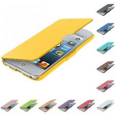 For iPod Touch 5th Gen 5G 5 Color Wallet Leather Hard Case Cover Pouch Accessory