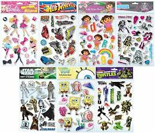 CHARACTER - Puffy Stickers - A4 Sheet (Anker:Colouring/Art/Craft/Christmas Gift)