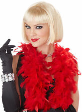 Classic Flapper 1920's Jazz  Adult Costume Wig - Black, Blonde or Brown