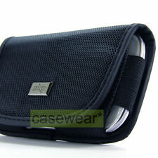 Heavy Duty Horizontal Pouch Belt Clip Holster Case for LG Phones Accessory
