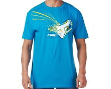 Fox Racing Spillage Tee Mens Blue Graphic T-Shirt New NWT