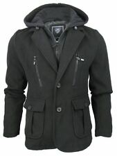 Mens Fashion Dissident 'Driggs' Hoodie/ Hooded Jacket/ Coat