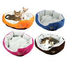 Pet Dog Nest Puppy Cat Pig Washable Soft Bed Fleece Warm House Kennel Plush Mat