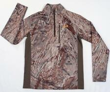 Under Armour Cold Gear Mossy Oak Duck Blind Camo Long Sleeve Shirt Mens NWT