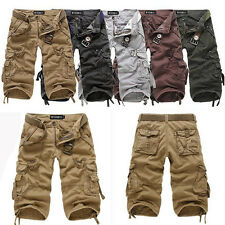 New Men's Cotton Hobo Men Relaxed Fit Cargo Shorts Summer Cool Pants Shorts R53