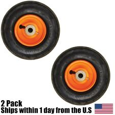 Scag 48307 Front Tire Assembly Pneumatic Air Filled Tire Wheel 9x3.50-4 2 Pack