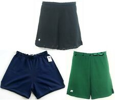 Shorts Athletic Workout Elastic Waistband Drawstring Adult Mens Russell 55113MO