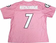 Ben Roethlisberger Steelers Women's Replica NFL Light Pink Jersey