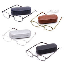 Foldable Reading Glasses Hard Case & Microfiber Cloth Included Many Strengths