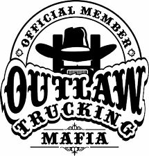 Outlaw Trucking Mafia T-Shirt 4 Drivers of Peterbilt KW Freightliner Mac Volvo..