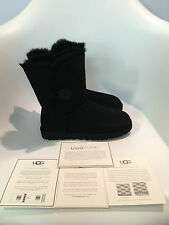 UGG Australia Bailey Button Black Boot womens size 5-11/36-42 NEW!!!