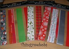 MAKE/CREATE YOUR OWN CHRISTMAS PAPER CHAINS KIT - CHILDREN'S CRAFTS - 3 DESIGNS