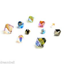 144pcs SWAROVSKI XILION CRYSTAL Element 5328 Bicone Bead 2X AB Variable Color
