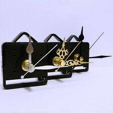 Quartz clock mechanism with hands and choice of movement type and hands