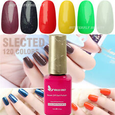 120 Colors Nail Art Tips UV/LED Lamp Soak Off Polish Color Gel DIY Decoration 03