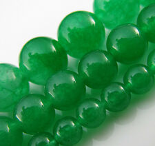 Free TOP Natural 15 inch Malay jade Round spacer Gemstone Beads 4mm 6mm 8mm 10mm
