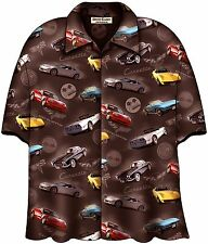 Corvette Cars 60th Anniversary Hawaiian Camp Shirt by David Carey