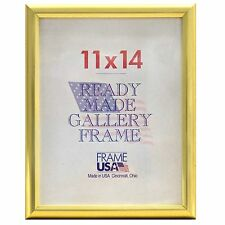 Deluxe Gold Poster Frame w/Plexi-Glass - 15 Sizes to Choose From