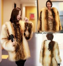New Korea style high quality Women's imitation fur fur coat artificial fur Coats
