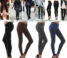 Super Casual Urban Style Sexy Women Solid Thick Fall/Winter/Spring Leggings