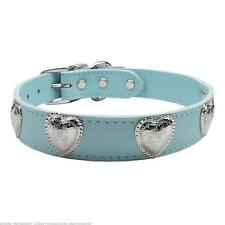 Mirage Pet Leather Dog Collar Western Heart