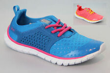Ladies Shoes Shum Blue or Peach Lace up Fashion Runner Sneaker Size 5-10 New