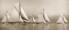 BEKEN OF COWES -RYDE TOWN CUP 1903 ART PRINT WITH FRAME OPTIONS OR  CANVAS PRINT