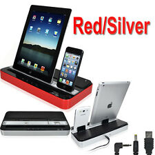 Multi-Function Docking Station Charger Speaker for iPhone 5/4/4S,iPad 2/3/4,iPod