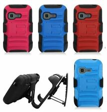 For Samsung Freeform M T189N TracFone S390G Rhino Holster Cover Belt Clip Case