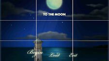 TO THE MOON GAME HUGE MOSAIC POSTER 35 INCH x 25 INCH