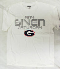 ESPN Official Apparel NCAA University of Georgia Men Short Sleeve Tee Tshirt NEW