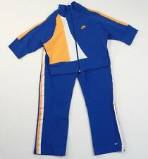 Nike Blue Yellow & White Athletic Jogging Running Jacket & Pants Womans  XS NWT