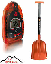 Arva Evo 3+ Avalanche Beacon Digital Avy Transceiver & Snow Rescue Shovel