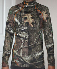 Under Armour Men's Coldgear Fitted Mossy Oak Infinity Camo Shirt NWT **