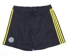 Adidas ClimaCool Chelsea Football Club Black Football Soccer Shorts Mens NWT