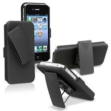 Hybrid 2PC Holster Combo Kickstand Belt Clip Case Cover For Many Phone Models