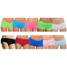 Tanga Panties Ruffle Short Shorts Adult Womens Sexy Boy Hot Underwear Accessory