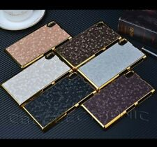 For Sony Xperia Z1 i1 L39h Luxury Shiny Gold Chrome Design hard case cover