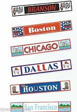 US Cities Title Stickers Srm Press Scrapbooking