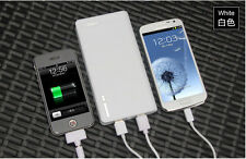 20000mAh USB External Battery Power Charger for Moblie Phone Tablet PC +Adapters