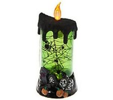 Bethlehem Lights Halloween Flameless Candle & Timer  NEW IN OPENED BOX  H200438