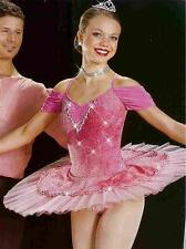 Dream in pink 430 Professional Ballet Competition Dance Costume Pageant Princess