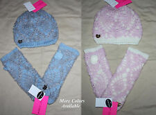 Betsey Johnson Women's Crocheted Hat & Glove Set Sz OS NWT several choices **